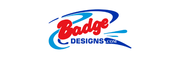Badgedesigns.com by Boock Signs & Graphics Logo